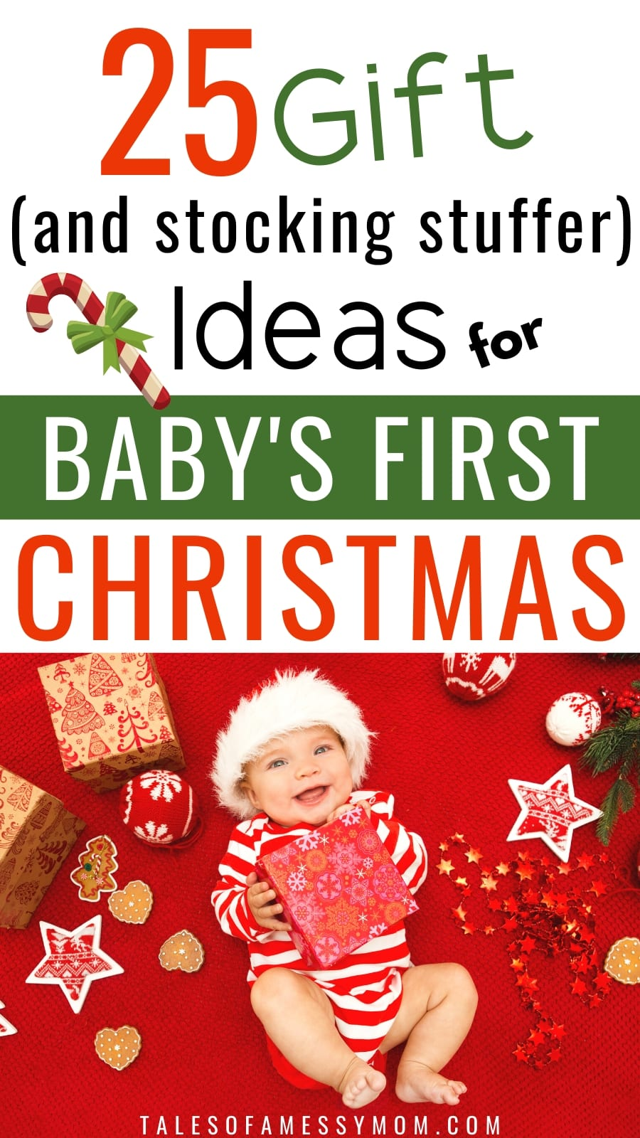 Gifts And Stocking Stuffers For Baby S First Christmas Tales Of A Messy Mom