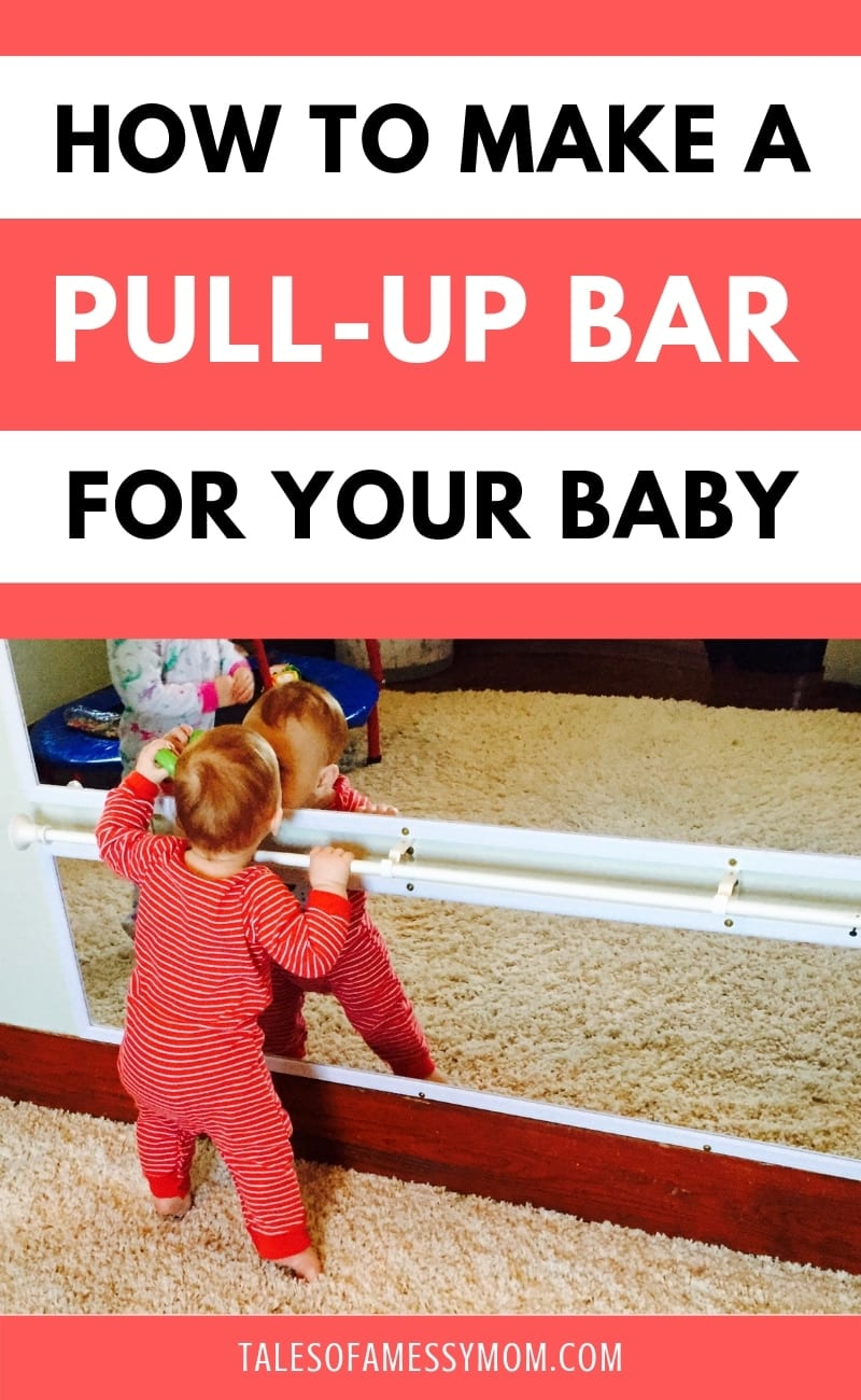 How To Make A Diy Pull Up Bar For Your Baby Tales Of A